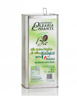 Lattina Biologico - Olio Extravergine d'oliva 100% Italiano - 5 lt. - Azienda Olearia del Chianti