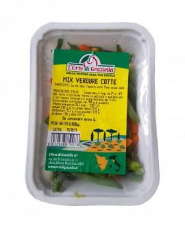 Mix verdure cotte - vaschetta 400g sottovuoto - L' Orto di Graziella