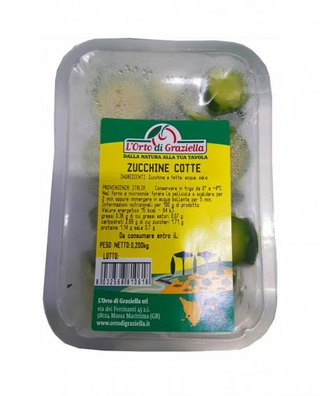 Zucchine cotte - vaschetta 200g sottovuoto - L' Orto di Graziella