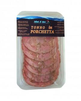 Affettato Tonno in porchetta - skin 70g - scadenza 33gg - Salumi di Mare