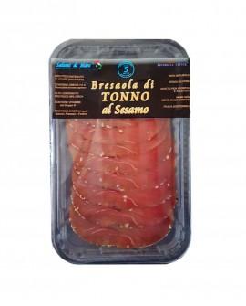 Affettato Bresaola di Tonno in crosta al sesamo - skin 50g - Salumi di Mare