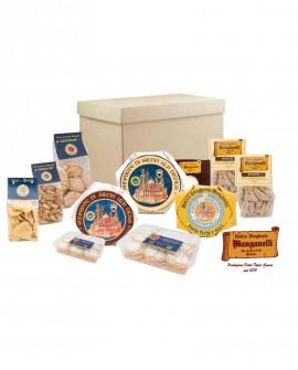 Scatola degustazione - n.11 specialità Dolci e Sapori Senesi - Antica Drogheria Manganelli Siena