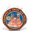 Panforte Nero di Siena o Panpepato IGP Ruota 4,2Kg - Antica Drogheria Manganelli Siena
