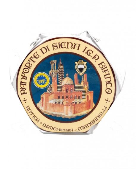 Panforte Bianco di Siena o Margherita IGP 900g - Antica Drogheria Manganelli Siena