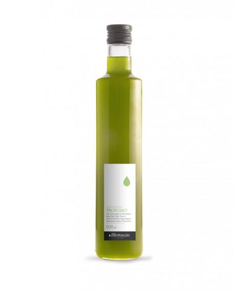 Olio Extravergine d'Oliva PROFUMO 100% italiano NON FILTRATO - 500ml - Olio il Bottaccio