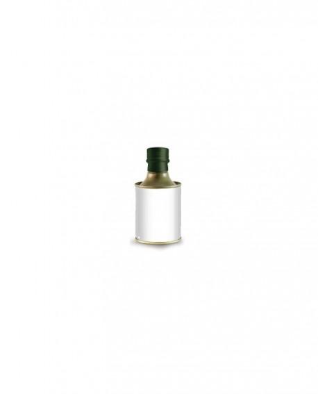 Olio Extravergine d'Oliva Classico 100% italiano - 250ml - bottiglia LATTA - Linea Personalizzata