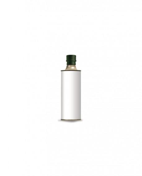 Olio Extravergine d'Oliva Classico 100% italiano - 500ml - bottiglia LATTA - Linea Personalizzata