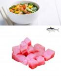 Poke di Tonno Pinna Gialla o Obeso - congelato - busta 500g - gourmet Pescheria F.lli Manno