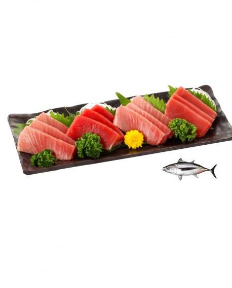 Sashimi Tranci di Tonno Alalunga - congelato - in vaschetta 500g - gourmet Pescheria F.lli Manno