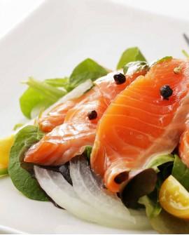 Sashimi Tranci Takaki di Salmone - congelato - in vaschetta 500g - gourmet Pescheria F.lli Manno