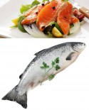 Salmone Norvegia - eviscerato - 5kg - prontocrudo Pescheria F.lli Manno