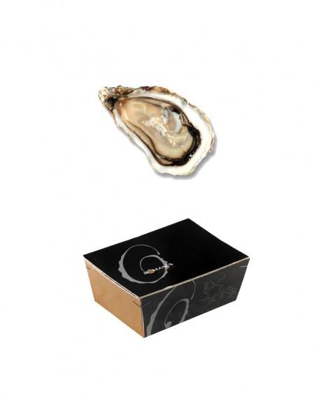 Ostriche Marennes-Oléron - CAESAR - confezione 2,5kg - 25-26 pezzi - Roman's F.lli Manno