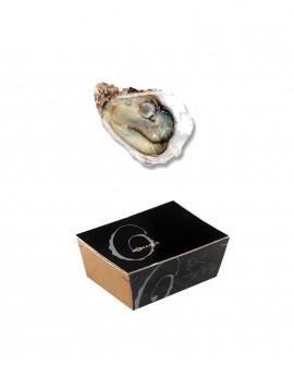 Ostriche Marennes-Oléron - DOMITIANUS - confezione 2,5kg - 25-26 pezzi - Roman's F.lli Manno