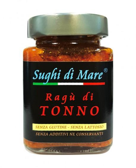 Ragù di Tonno - vaso vetro 200g - scadenza 18 mesi - Salumi di Mare