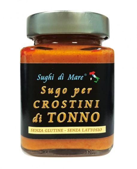 Sugo per Crostini di Tonno - vaso vetro 200g - scadenza 18 mesi - Salumi di Mare