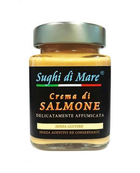 Crema di Salmone - vaso vetro 200g - scadenza 12 mesi - Salumi di Mare