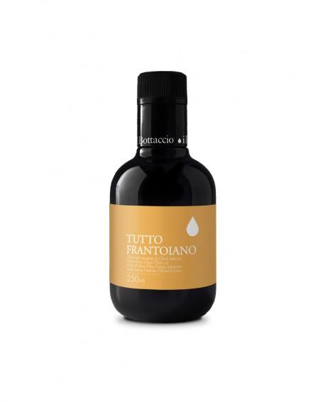 Monocultivar Tutto Frantoiano Olio Extravergine d'Oliva Italiano - 250ml - Olio il Bottaccio