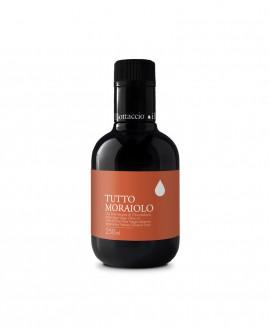 Monocultivar Tutto Moraiolo Olio Extravergine d'Oliva Italiano - 250ml - Olio il Bottaccio
