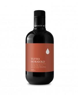 Monocultivar Tutto Moraiolo Olio Extravergine d'Oliva Italiano - 500ml - Olio il Bottaccio