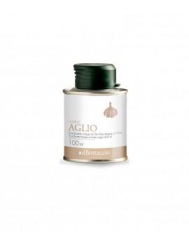 Olio Extravergine d'Oliva Italiano INFUSO al Aglio - 100ml - Olio il Bottaccio
