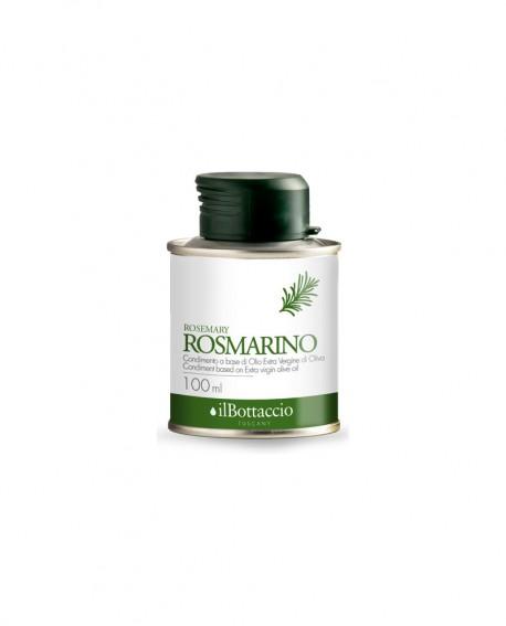 Olio Extravergine d'Oliva Italiano INFUSO al Rosmarino - 100ml - Olio il Bottaccio
