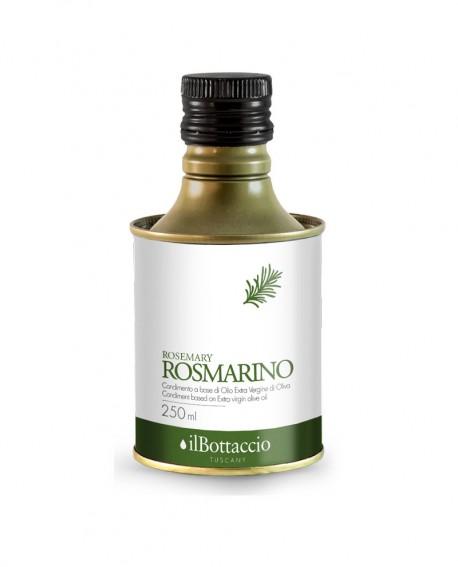 Olio Extravergine d'Oliva Italiano INFUSO al Rosmarino - 250ml - Olio il Bottaccio