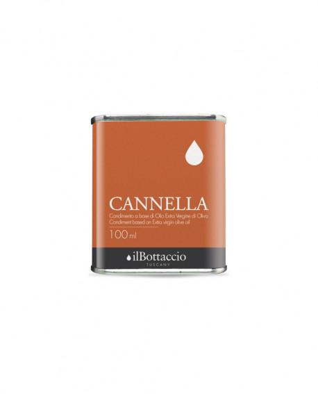Condimento SPEZIATO alla CANNELLA Olio Extravergine d'Oliva Italiano - 100ml - Olio il Bottaccio