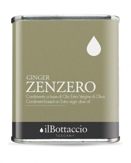 Condimento SPEZIATO alla ZENZERO Olio Extravergine d'Oliva Italiano - 750ml - Olio il Bottaccio