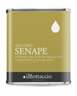 Condimento SPEZIATO alla SENAPE Olio Extravergine d'Oliva Italiano - 750ml - Olio il Bottaccio