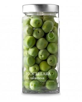 Olive verdi Nocellara in salamoia - 550g - Olio il Bottaccio