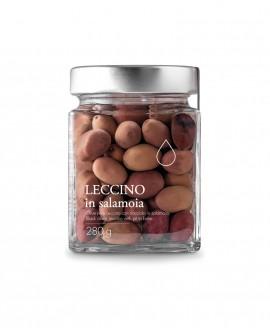 Olive nere Leccino in salamoia - 280g - Olio il Bottaccio