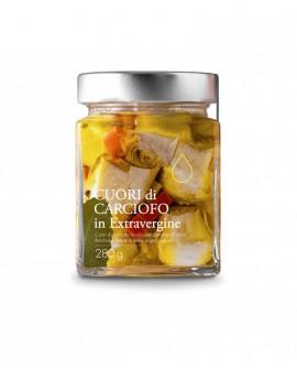 Sottolio Cuori di Carciofo in olio extra vergine - 280g - Olio il Bottaccio