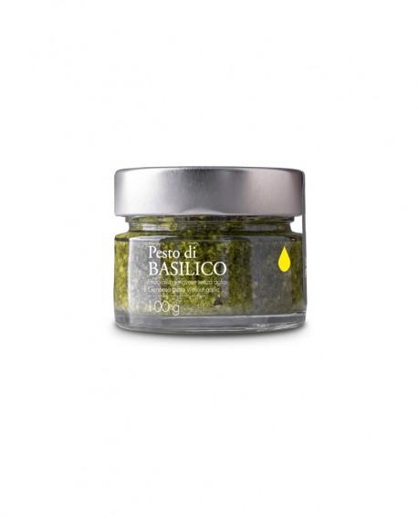 Pesto di Basilico alla genovese senza aglio - 100g - Olio il Bottaccio