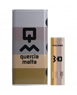 Olio Extravergine d'Oliva Classico 100% italiano - 5Lt - Olio Querciamatta