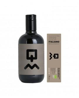 Olio Extravergine d'Oliva Classico Biologico 100% italiano - 500ml - Olio Querciamatta