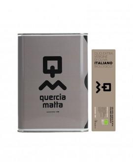 Olio Extravergine d'Oliva Classico Biologico 100% italiano - 3Lt - Olio Querciamatta