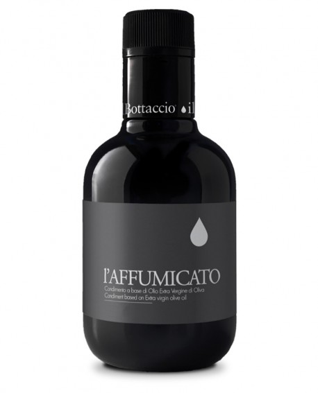 Condimento L'AFFUMICATO Olio Extravergine d'Oliva Italiano - 750ml - Olio il Bottaccio