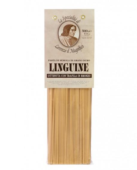 Linguine  500 gr Lorenzo il Magnifico - pasta semola di grano duro - Antico Pastificio Morelli