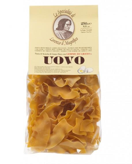 Straccetti 250 gr Lorenzo il Magnifico - pasta al germe di grano all'uovo - Antico Pastificio Morelli