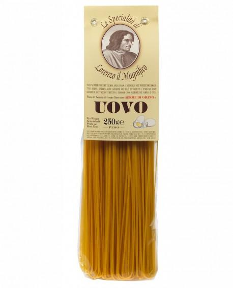 Tagliolini 250 gr Lorenzo il Magnifico- pasta al germe di grano all'uovo - Antico Pastificio Morelli