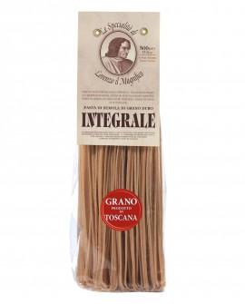 Linguine Integrali – Grano toscano  500 gr Lorenzo il Magnifico - Antico pasta integrale - Pastificio Morelli