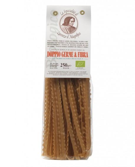 DOPPIO GERME & FIBRA 250 gr Lorenzo il Magnifico – Ricciolina Pasta BIOLOGICA - Antico Pastificio Morelli