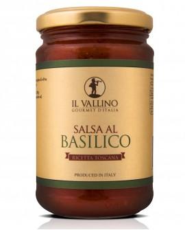 Salsa al Basilico 290 g - Il Vallino