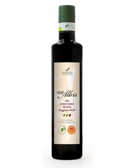 Olio Ex Albis, Seggiano DOP  monocultivar - Bottiglia da 100 ml - Olearia Santella