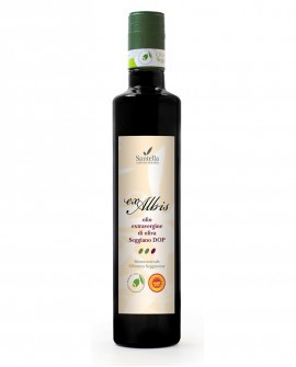 Olio Ex Albis, Seggiano DOP Monocultivar - Bottiglia da 500 ml - Olearia Santella