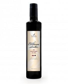 Olio L'Ultima Stretta, 100% Italiano Bottiglia da 500 ml - Olearia Santella