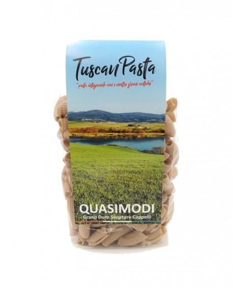 Quasimodi - Pasta Artigianale di Grano Antico Senatore Cappelli (macinato a pietra) - 500 g - Podere San Bartolomeo