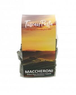 Maccheroni - Pasta Artigianale di Grano Antico Senatore Cappelli (macinato a pietra) - 500 g - Podere San Bartolomeo