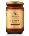 Salsa ai Peperoni 290 g - Il Vallino