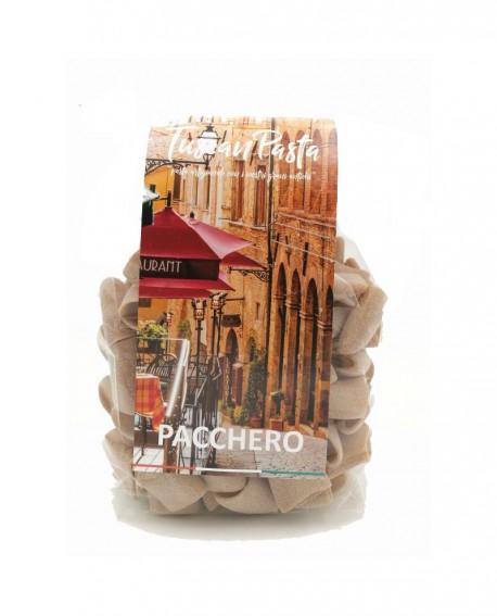 Pacchero - Pasta Artigianale di Grano Antico Senatore Cappelli (macinato a pietra) - 500 g - Podere San Bartolomeo